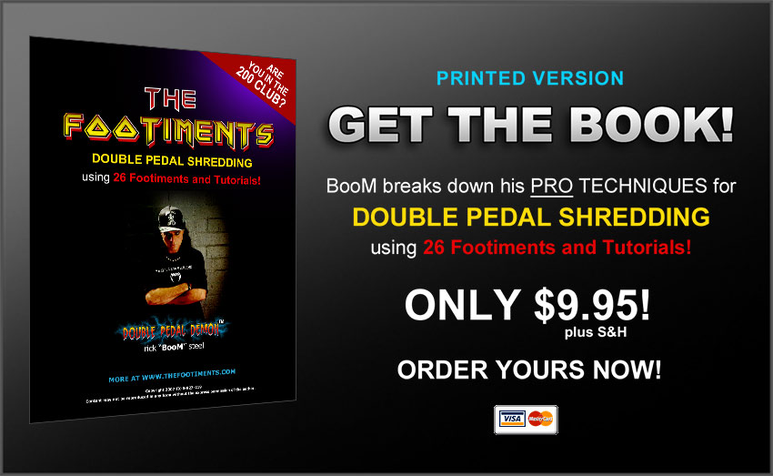 The footiments double-pedal drumming course